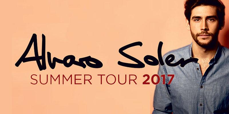 Alvaro Soler Summer Tour 2017