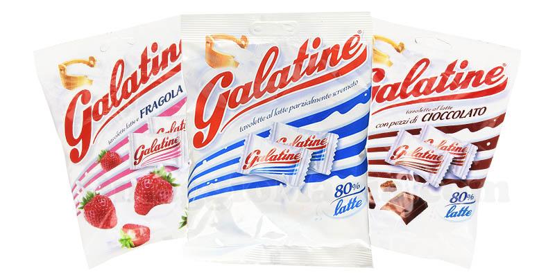 Galatine latte fragola cioccolato