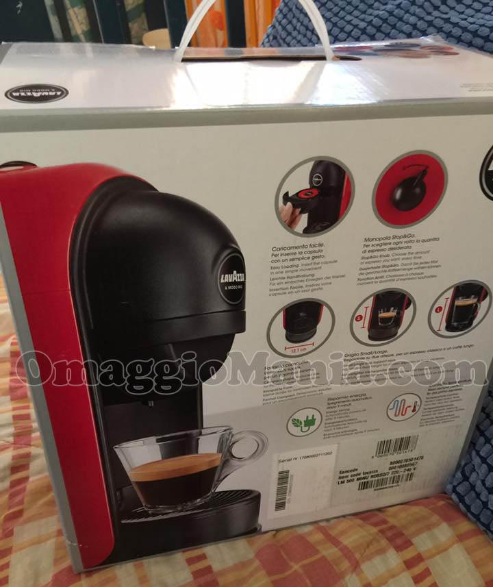 Macchina caffè Lavazza con Tesori del Gusto 2017