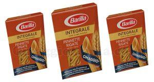 Pennette Rigate Integrali Barilla omaggio