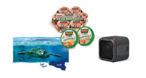 Rio Mare Coop GoPro e tartarughe marine