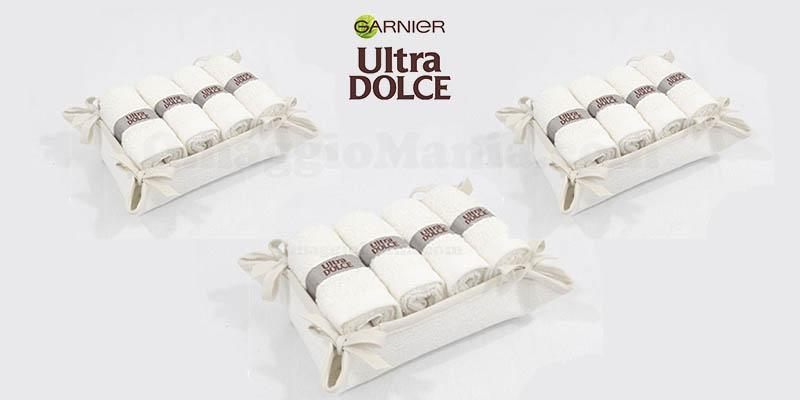 Set Asciugamani Ospite omaggio con Garnier Ultra Dolce