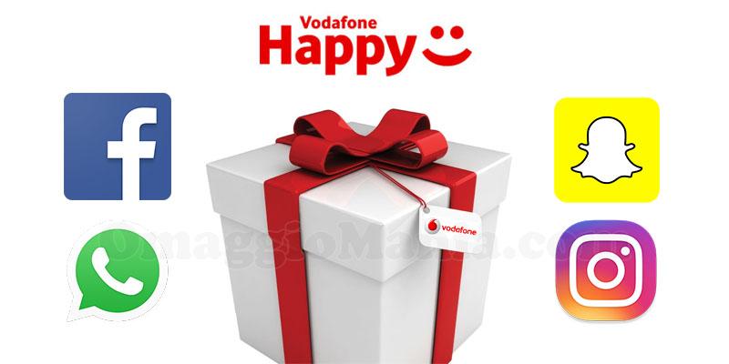 Vodafone Social Pass Social & Chat con Vodafone Happy