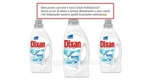 aggiornamento spedizione Dixan Pulito&Liscio