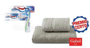 asciugamani Gabel premio certo Aquafresh