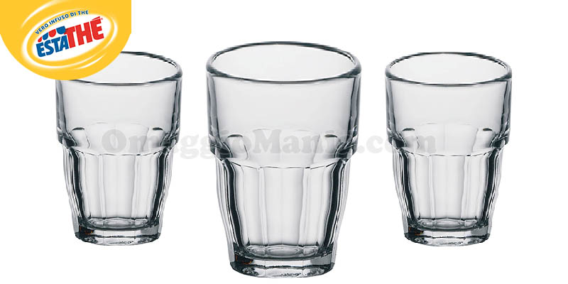 bicchieri Estathé per te 2017