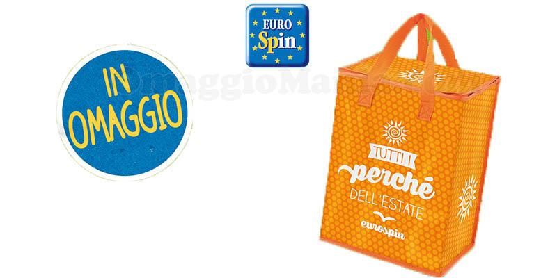 borsa termica omaggio Eurospin