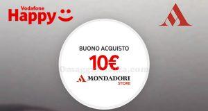 buono Mondadori Vodafone Happy Friday 16 giugno 2017