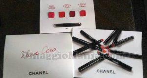 campioni omaggio rossetti Chanel I Love Coco di VitoMery