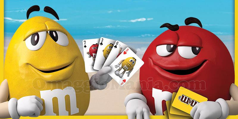 carte da gioco M&M's
