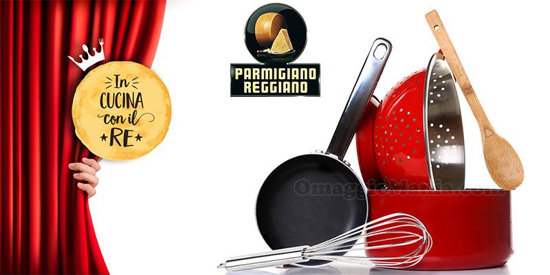 concorso Parmigiano Reggiano In cucina con il Re