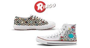 concorso Ringo ti regala le scarpe personalizzate