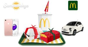 concorso Summerdays McDonald's 2017