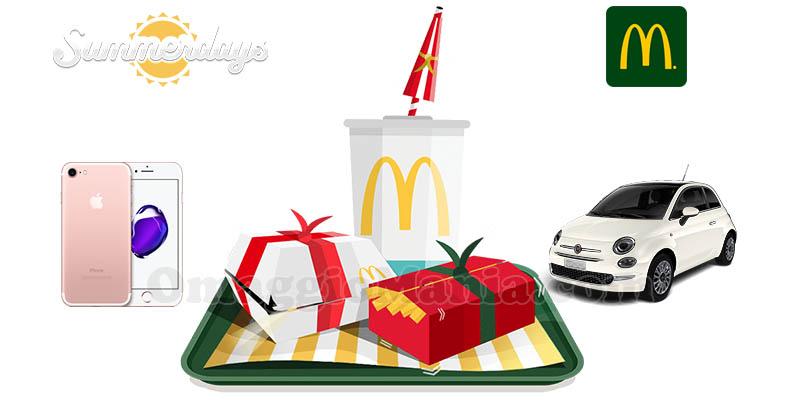 concorso Summerdays McDonald's 2017