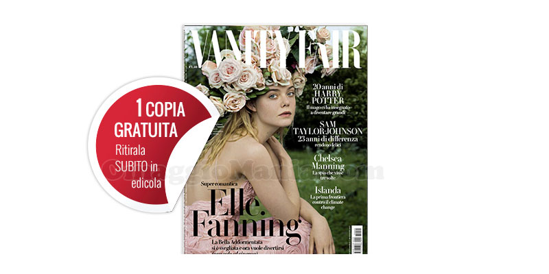 coupon Vanity Fair 25 2017