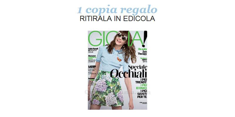 coupon omaggio Gioia 24 2017