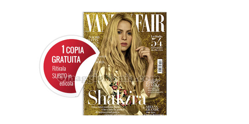 coupon omaggio Vanity Fair 23