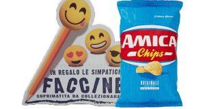 faccine coprimatite omaggio con Amica Chips