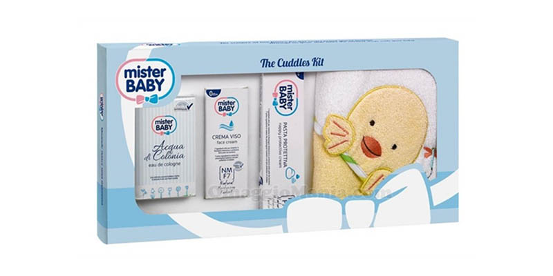kit accappatoio Mister Baby