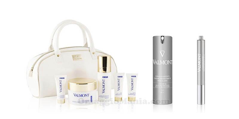 kit di prodotti Valmont con Marie Claire
