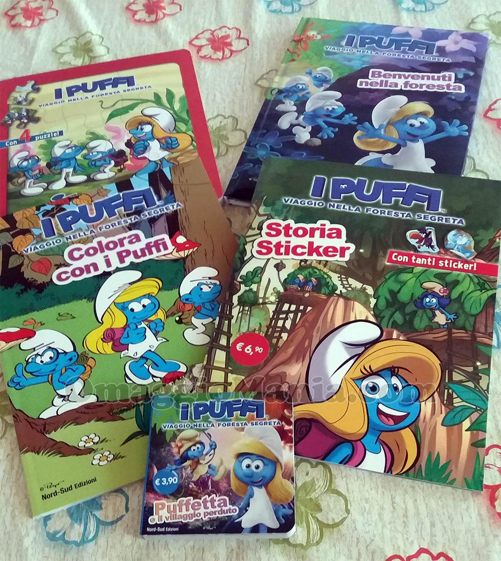 kit libri dei Puffi di Manuelita