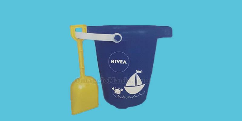 kit secchiello paletta Nivea 2017
