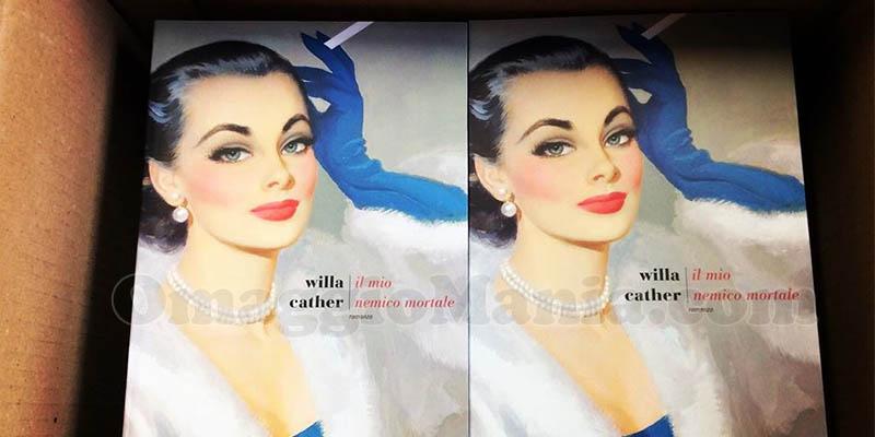 libro Il mio nemico mortale Willa Cather Fazi Editore