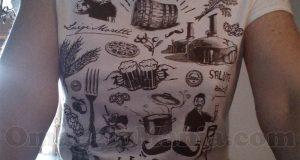 maglietta Birra Moretti omaggio di Loretta