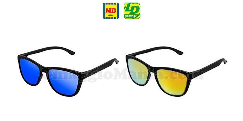 occhiali da sole 1 euro MD LD