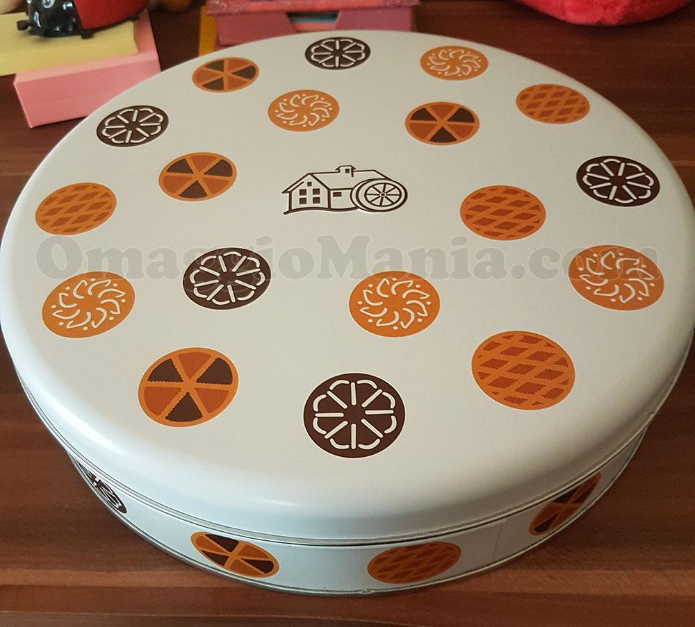 porta torta in latta Mulino Bianco di Valentina