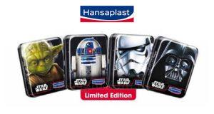 scatole porta-cerotti Star Wars con Hansaplast