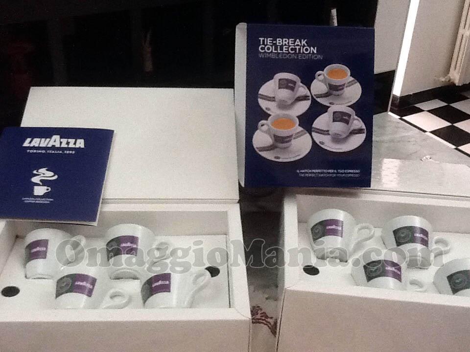 set tazzine limited edition Tie-Break Wimbledon Collection di Tataa71