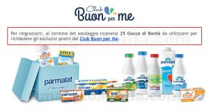 sondaggio Parmalat Club Buon per me
