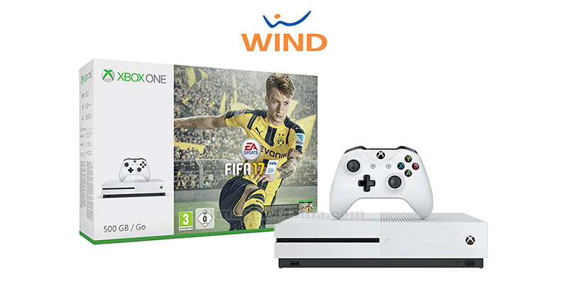 vinci Xbox One S con Wind