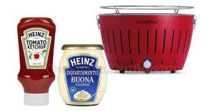 vinci il grill con le salse Heinz