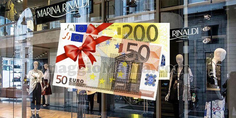 vinci voucher 250 euro Marina Rinaldi