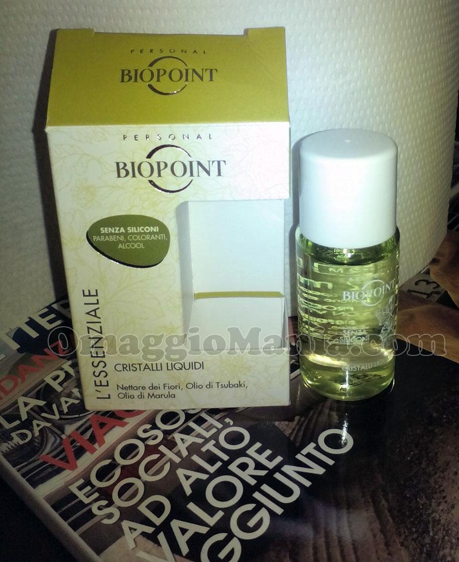minitaglia biopoint l 39 essenziale cristalli liquidi omaggiomania. Black Bedroom Furniture Sets. Home Design Ideas