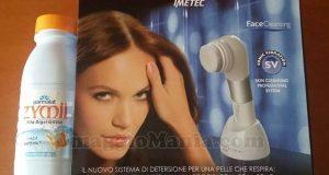 Face Cleansing Bellissima Imetec con Zymil ti premia di Donatella