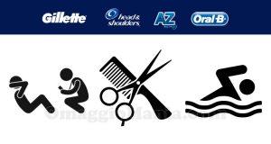 Gillette, AZ, Oral-B e Head&Shoulders premio sicuro 3 Segreti