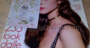 Grazia 31 con latte corpo Ultra Dolce Garnier di Maria