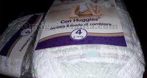 Huggies Pannolini Mutandina omaggio di Caterella