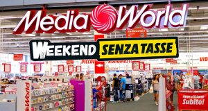 MediaWorld Weekend Senza Tasse