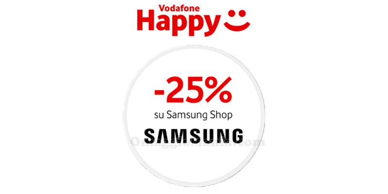 Vodafone Happy Friday Samsung Shop