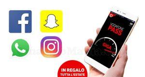 Vodafone Social Pass Social & Chat gratis