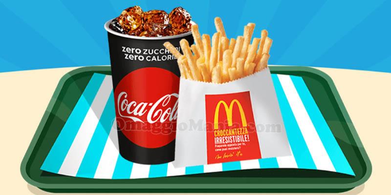 bibita piccola patatine piccole McDonald's