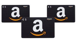 buoni Amazon 5€