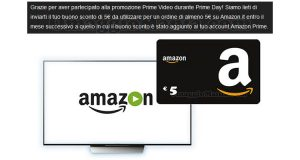 buoni Amazon Prime Video in arrivo