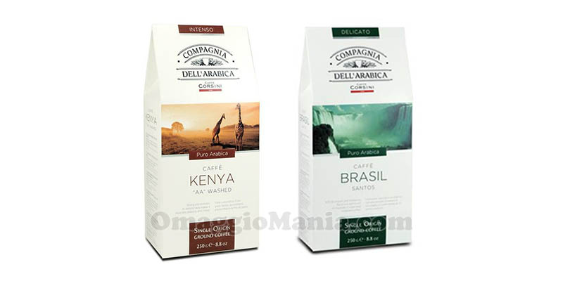 caffè Corsini Compagnia dell'Arabica Kenya Brasil