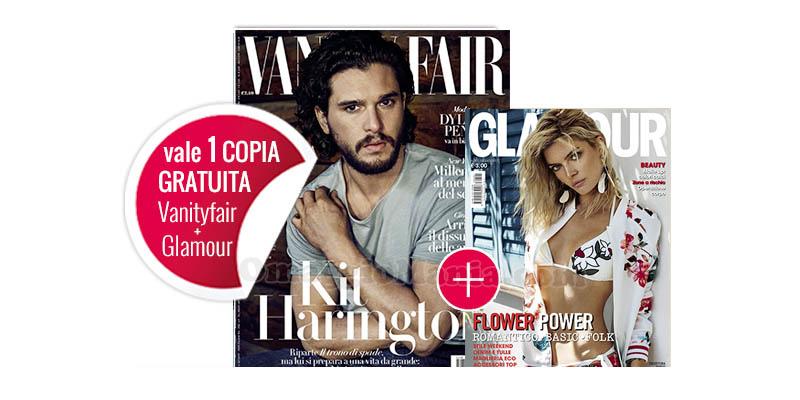 coupon Vanity Fair 28 e Glamour 301