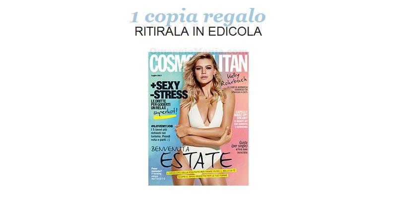 coupon copia omaggio Cosmopolitan 7 2017